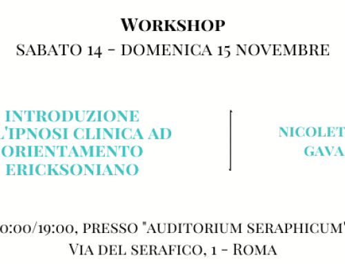 Workshop con Nicoletta Gava